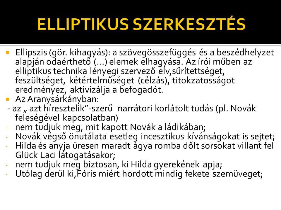 ELLIPTIKUS SZERKESZTÉS