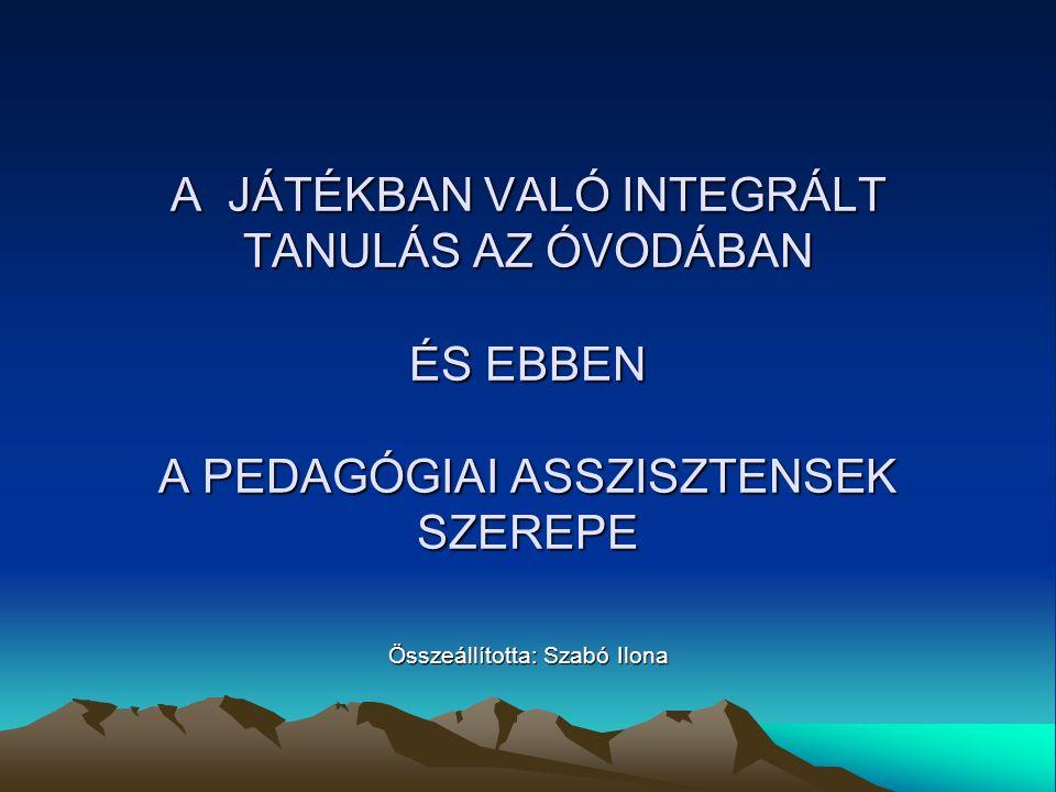 Összeállította: Szabó Ilona