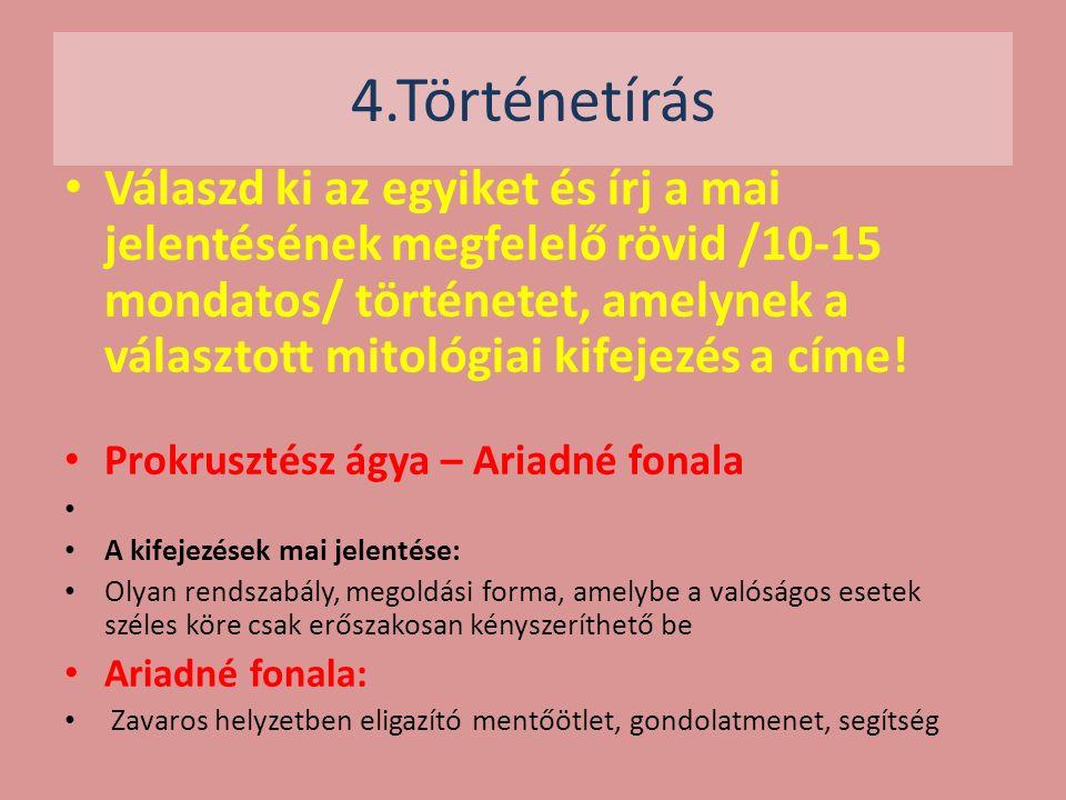 4.Történetírás.
