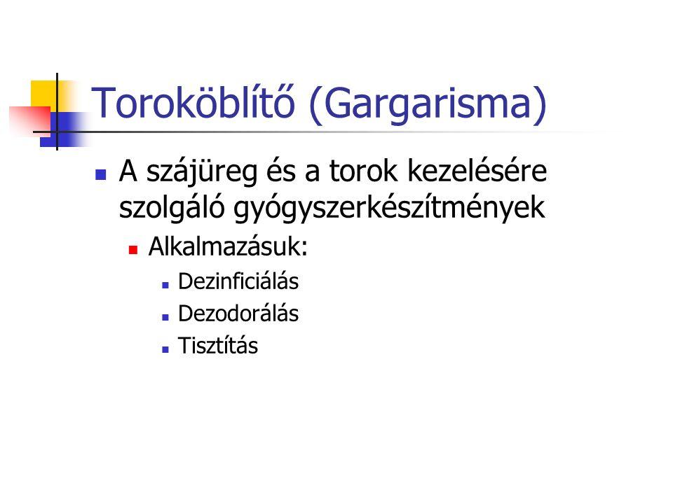 Toroköblítő (Gargarisma)