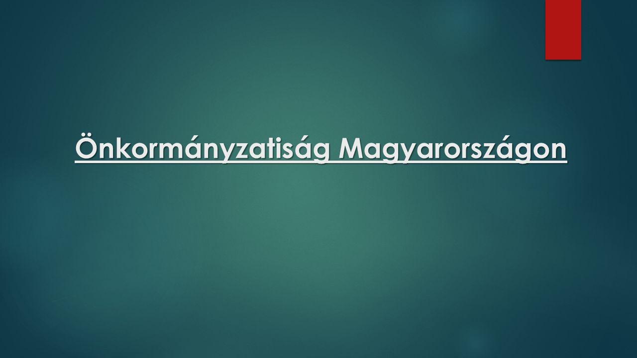 Önkormányzatiság Magyarországon