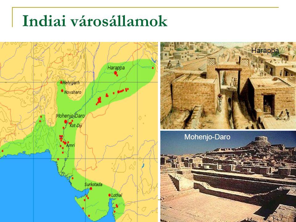 Indiai városállamok Harappa Mohenjo-Daro