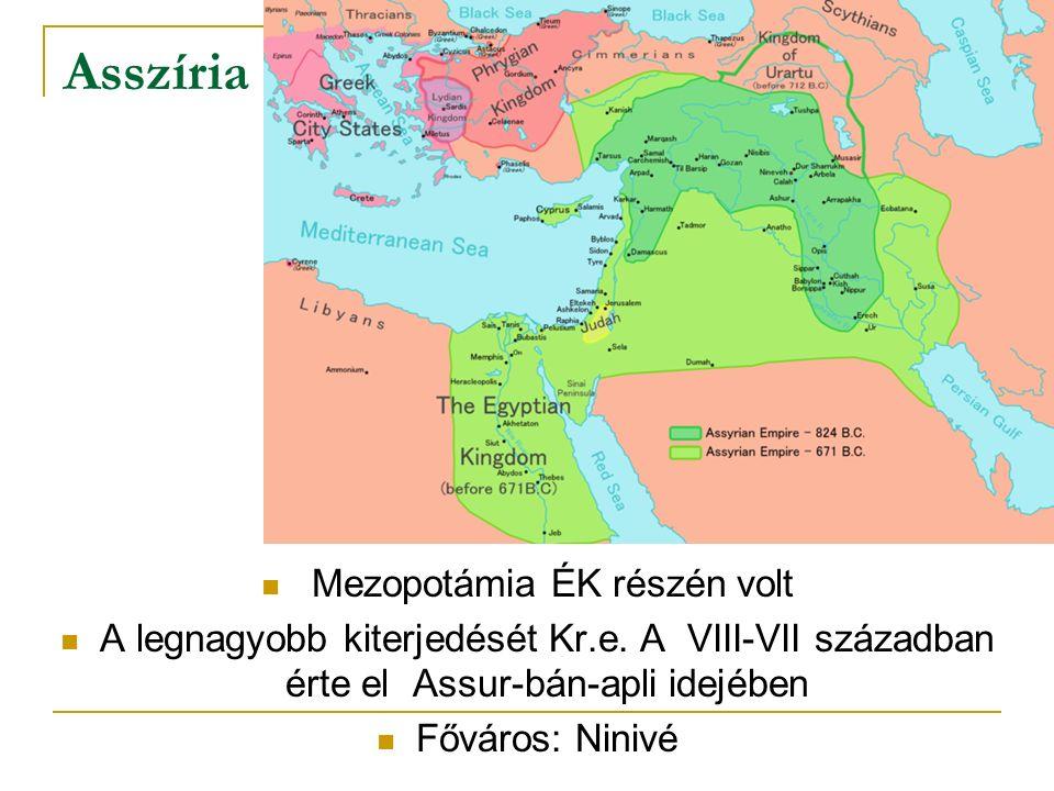 Mezopotámia ÉK részén volt