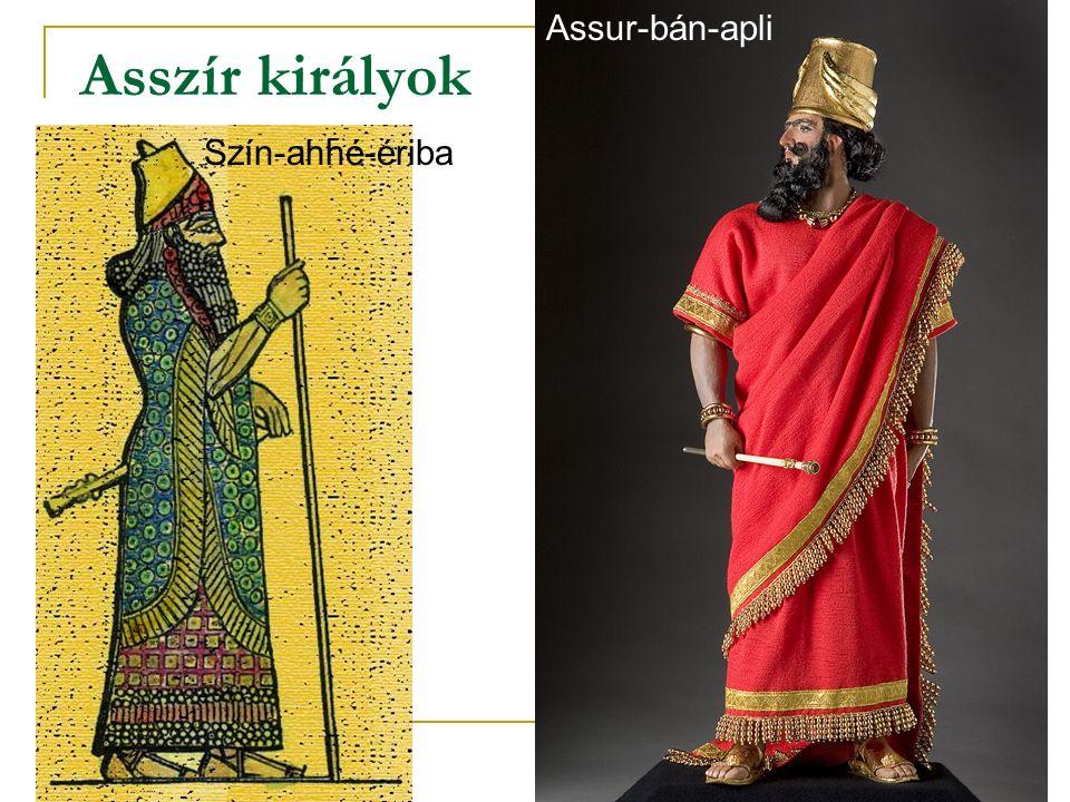 Assur-bán-apli Asszír királyok Szín-ahhé-ériba