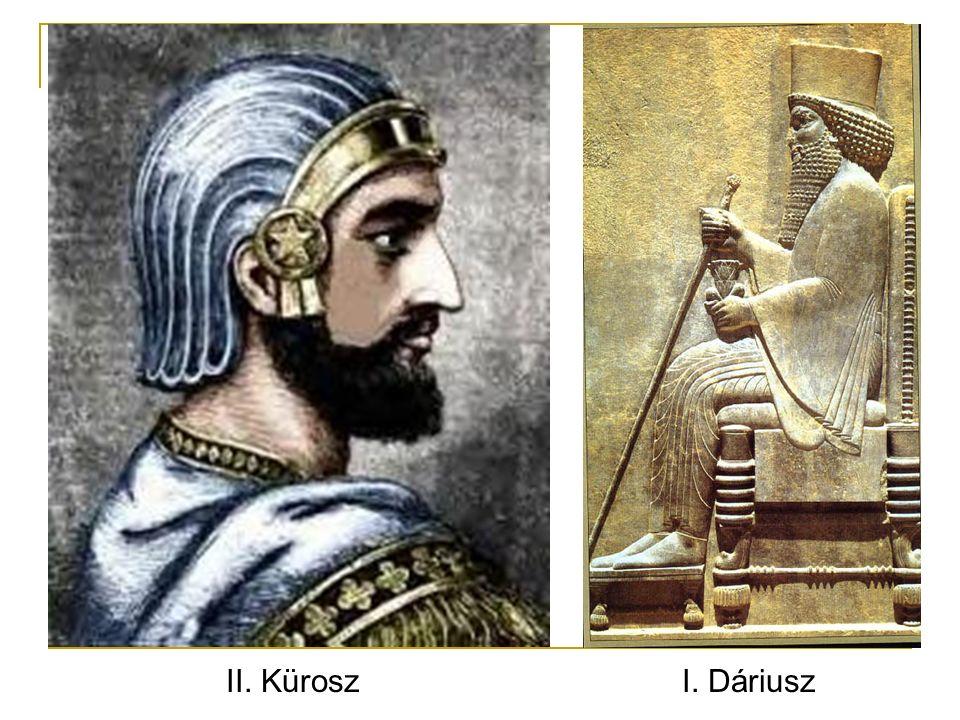 II. Kürosz I. Dáriusz