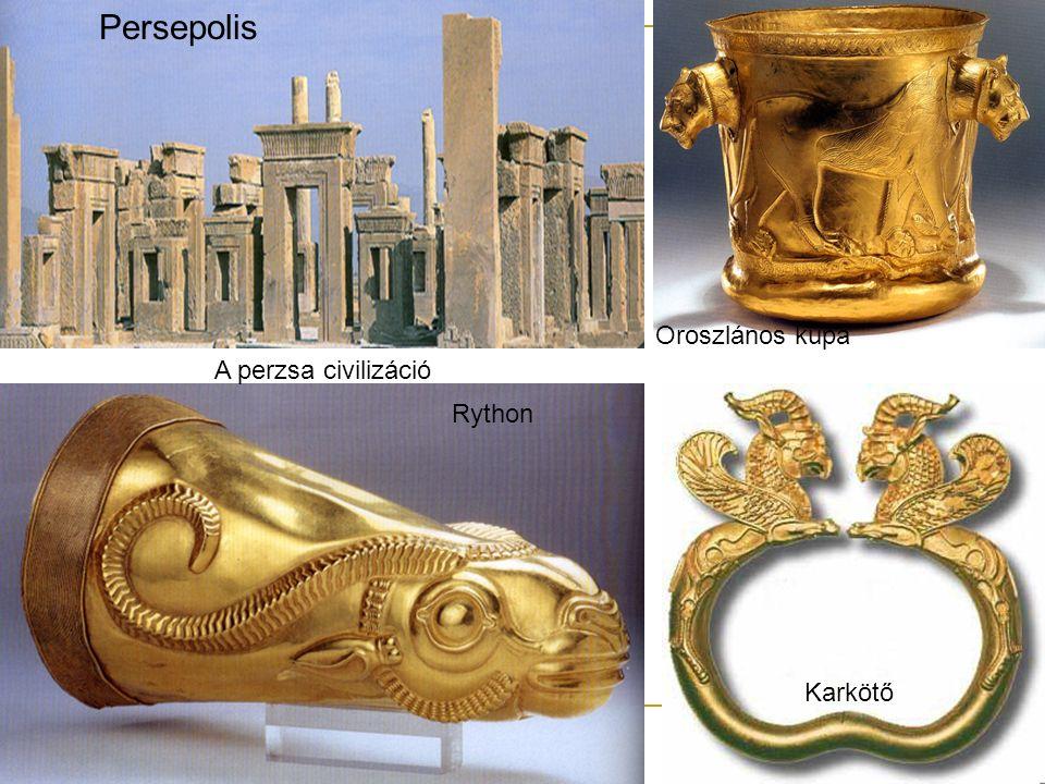 Persepolis Oroszlános kupa A perzsa civilizáció Rython Karkötő