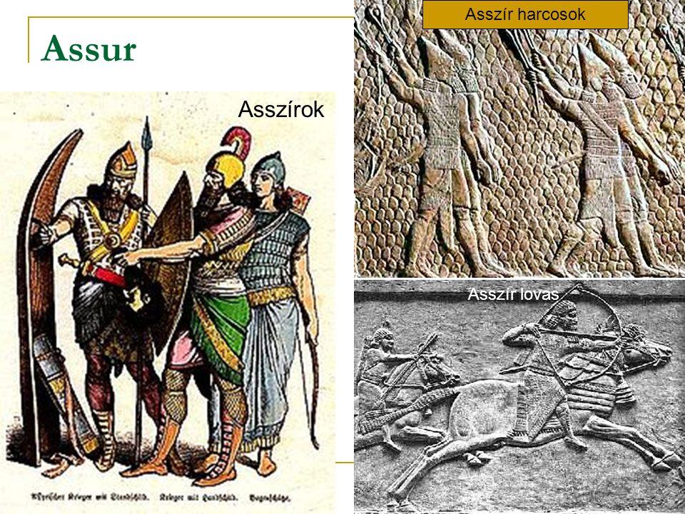 Asszír harcosok Assur Asszírok Asszír lovas