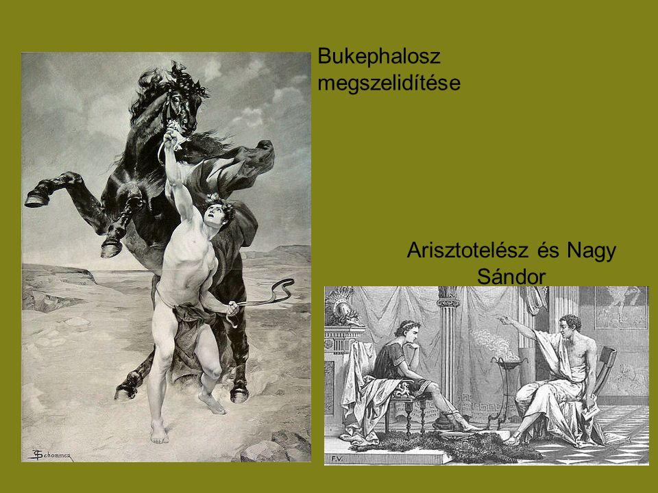 Arisztotelész és Nagy Sándor