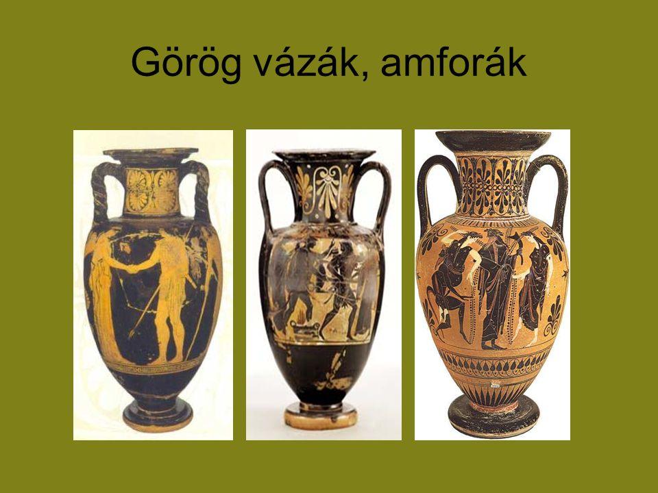 Görög vázák, amforák