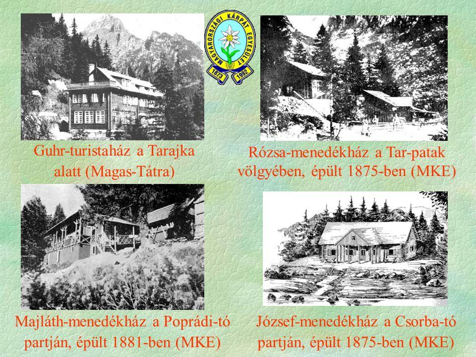 Guhr-turistaház a Tarajka alatt (Magas-Tátra)
