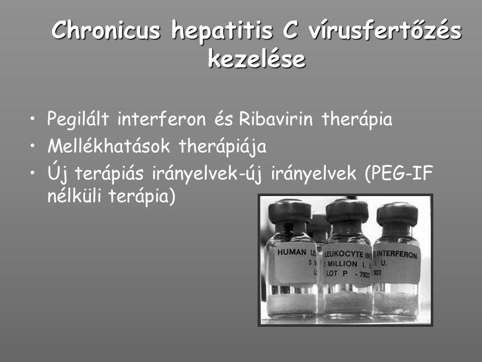 Chronicus hepatitis C vírusfertőzés kezelése