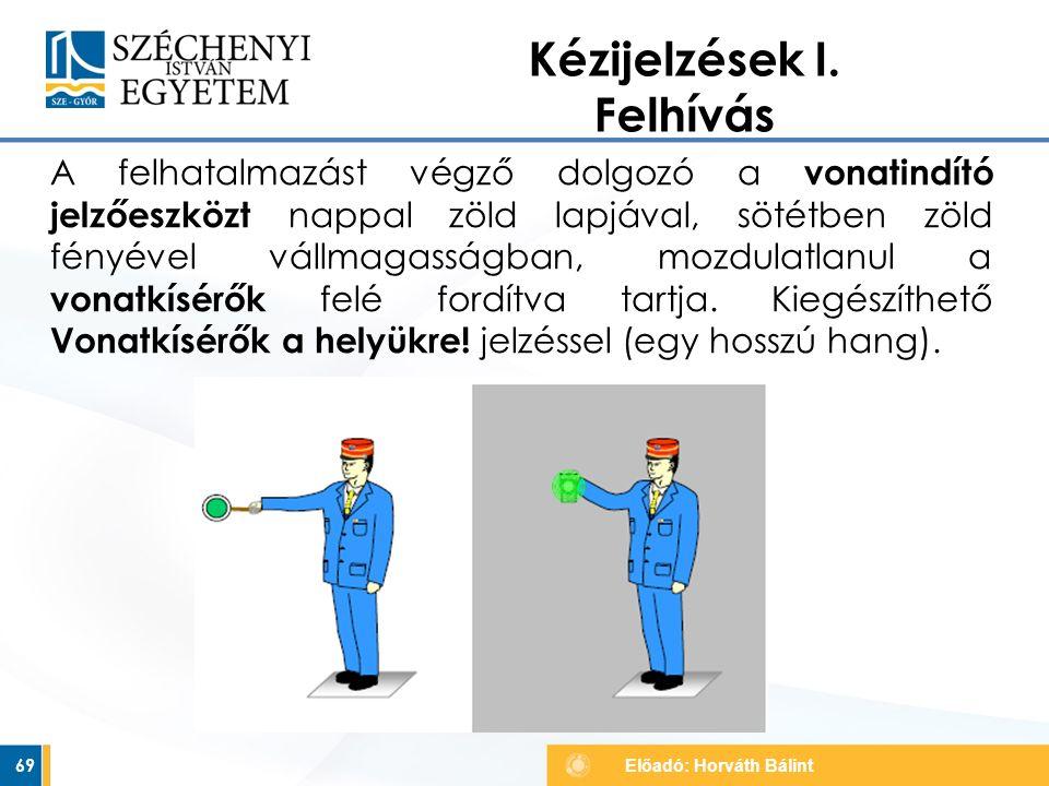 Kézijelzések I. Felhívás