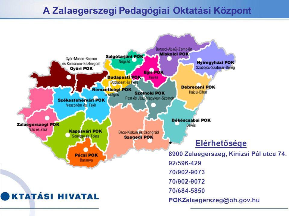 A Zalaegerszegi Pedagógiai Oktatási Központ