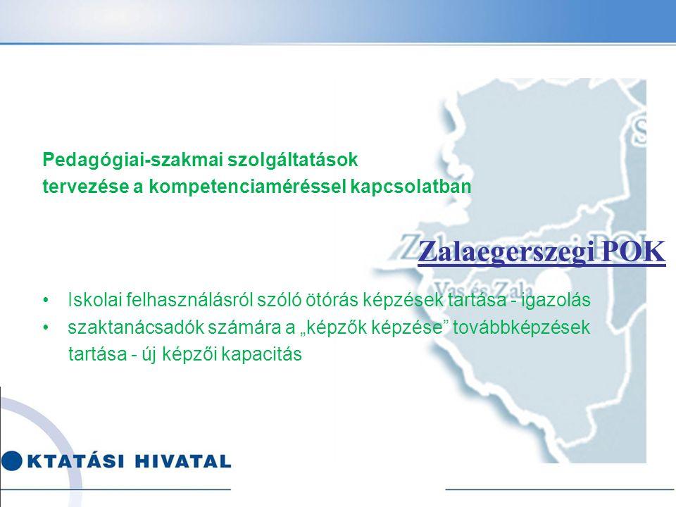 Zalaegerszegi POK Pedagógiai-szakmai szolgáltatások