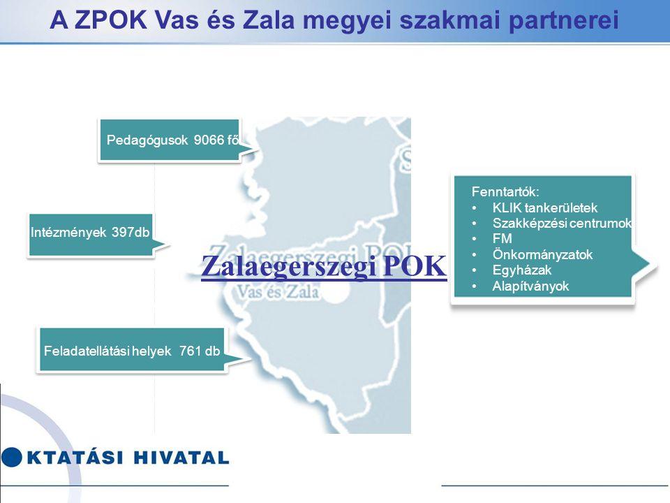 Zalaegerszegi POK A ZPOK Vas és Zala megyei szakmai partnerei