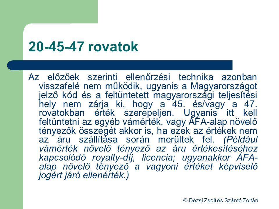 © Dézsi Zsolt és Szántó Zoltán