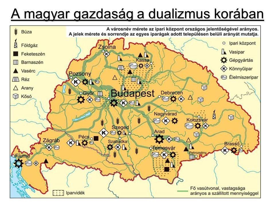 A magyar gazdaság a dualizmus korában