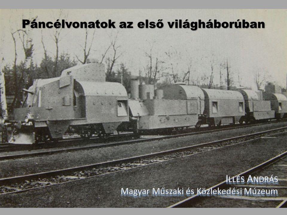 Páncélvonatok az első világháborúban