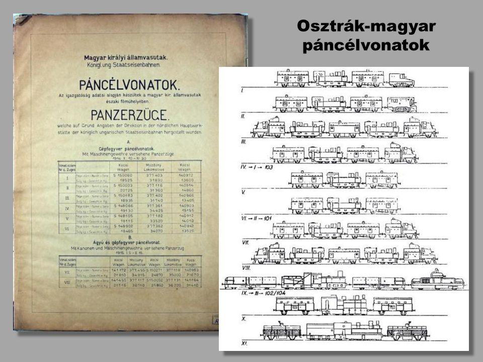 Osztrák-magyar páncélvonatok