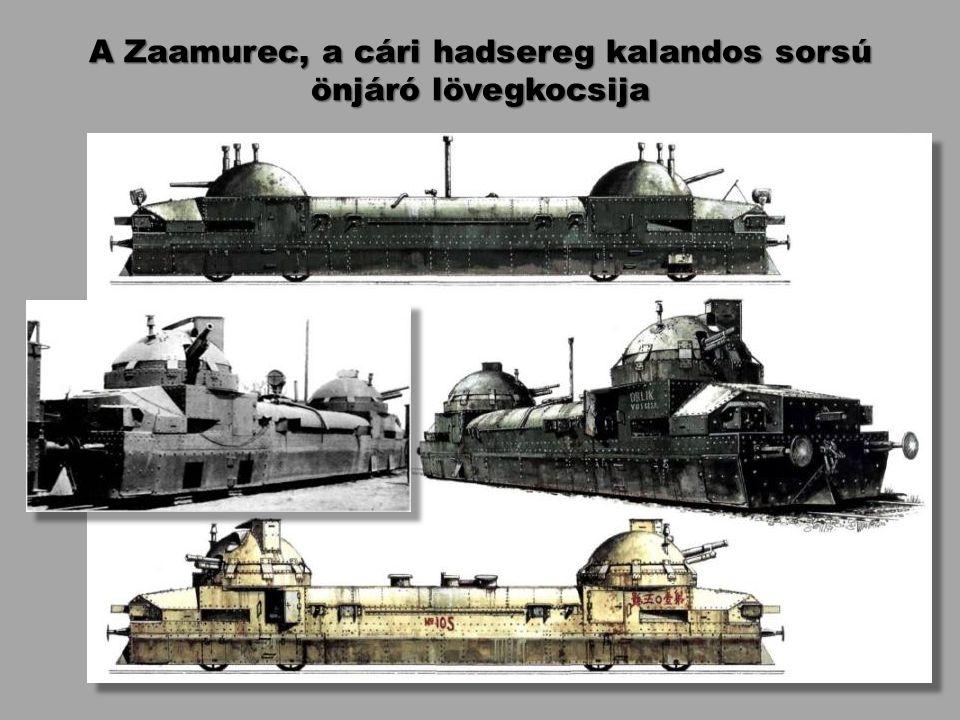 A Zaamurec, a cári hadsereg kalandos sorsú