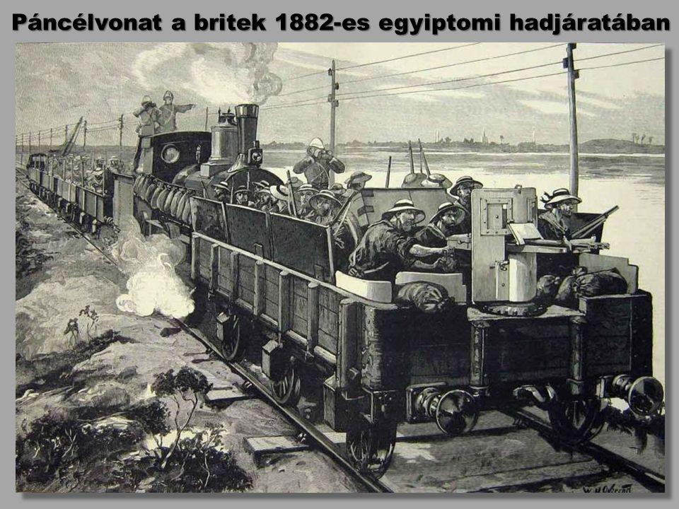 Páncélvonat a britek 1882-es egyiptomi hadjáratában