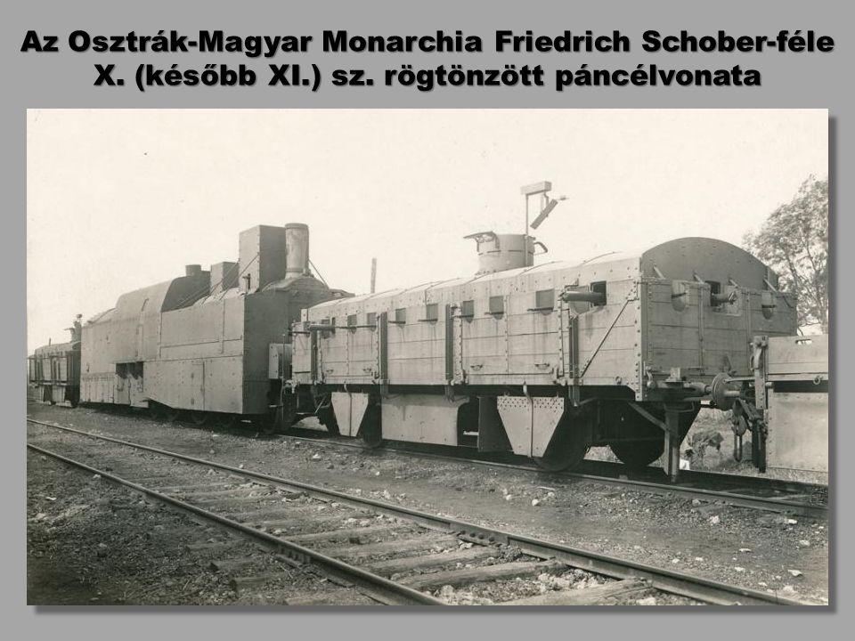 Az Osztrák-Magyar Monarchia Friedrich Schober-féle X. (később XI. ) sz