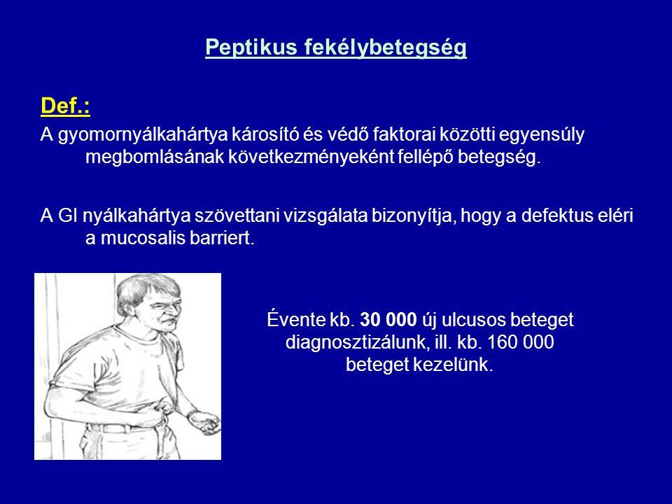 Peptikus fekélybetegség