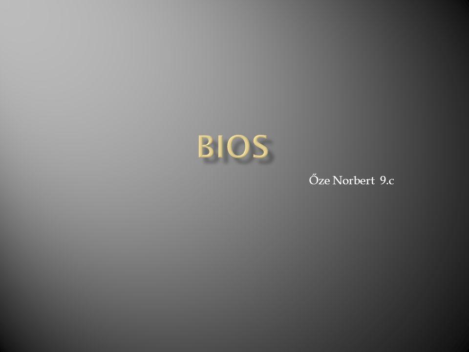 BIOS Őze Norbert 9.c