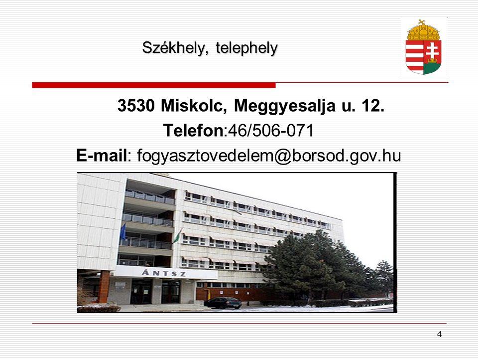 E-mail: fogyasztovedelem@borsod.gov.hu
