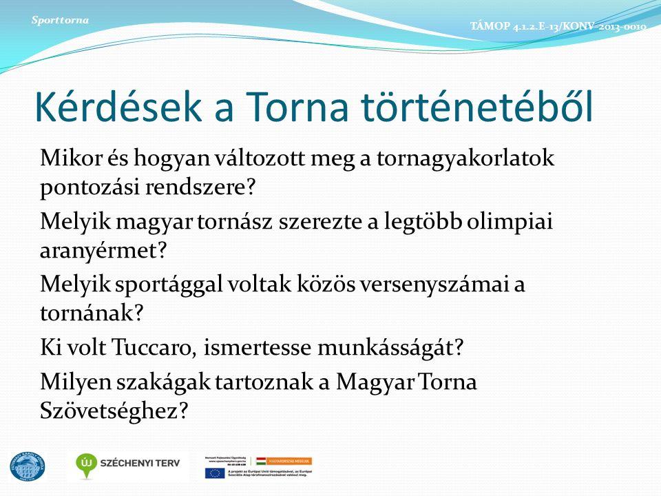 Kérdések a Torna történetéből