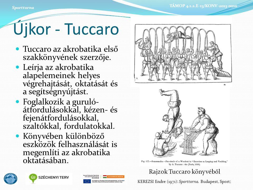 Újkor - Tuccaro Tuccaro az akrobatika első szakkönyvének szerzője.