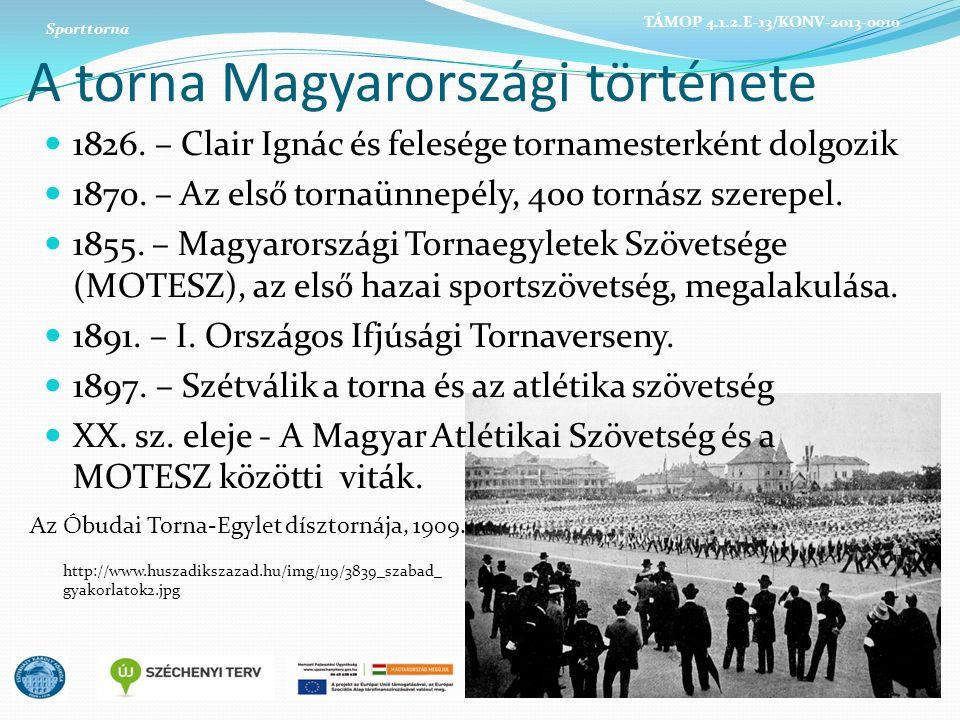 A torna Magyarországi története