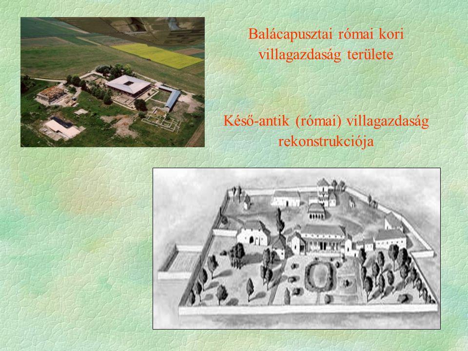 Balácapusztai római kori villagazdaság területe
