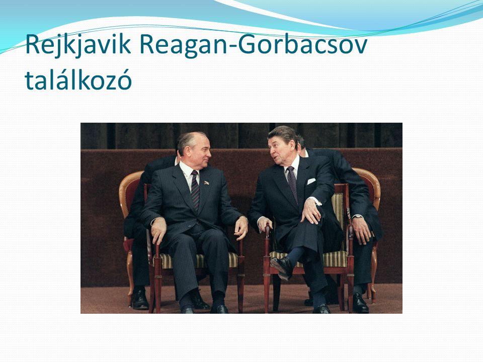 Rejkjavik Reagan-Gorbacsov találkozó