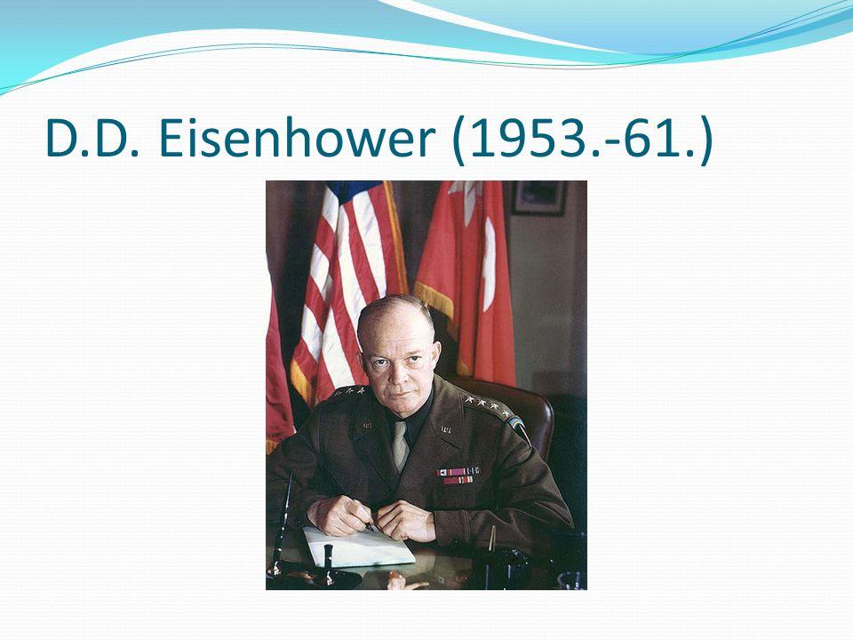 D.D. Eisenhower (1953.-61.)