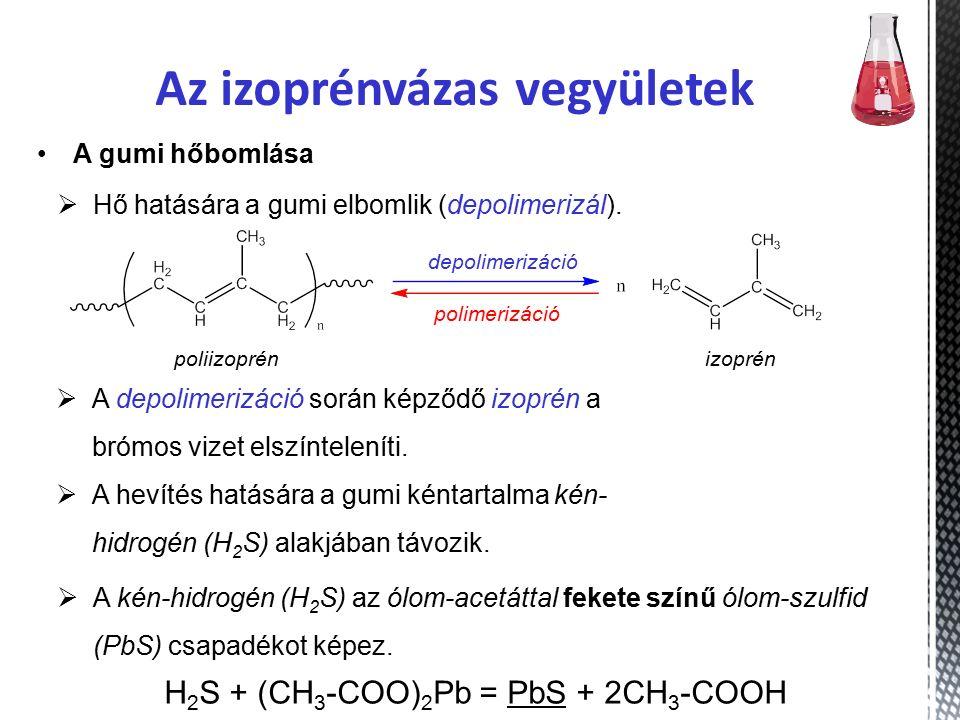 Az izoprénvázas vegyületek