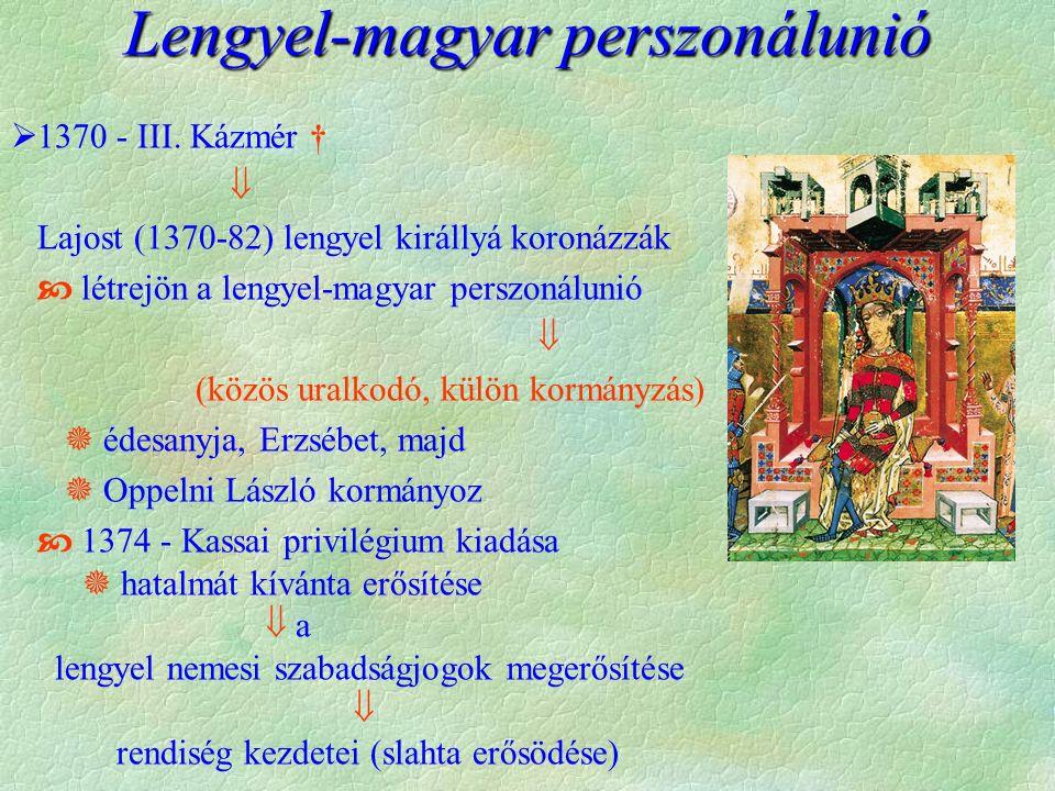 Lengyel-magyar perszonálunió