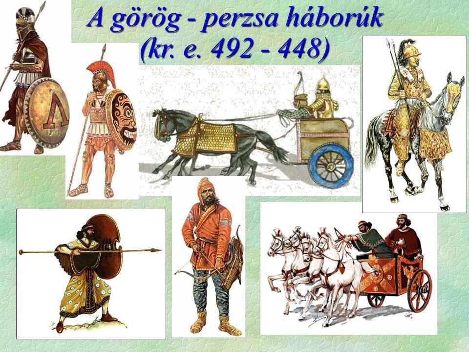 A görög - perzsa háborúk