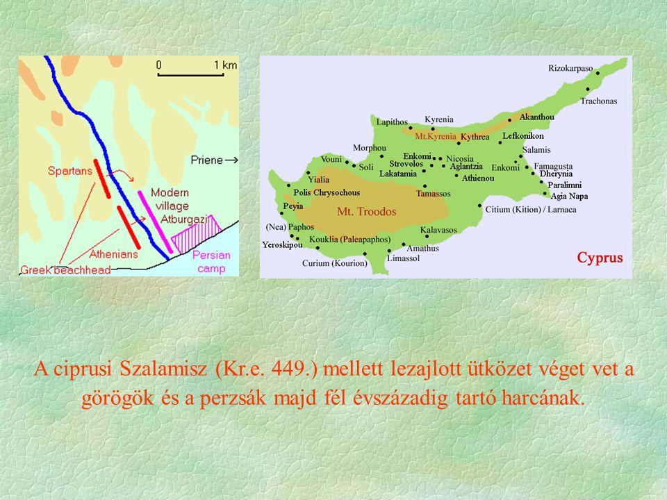 A ciprusi Szalamisz (Kr. e. 449