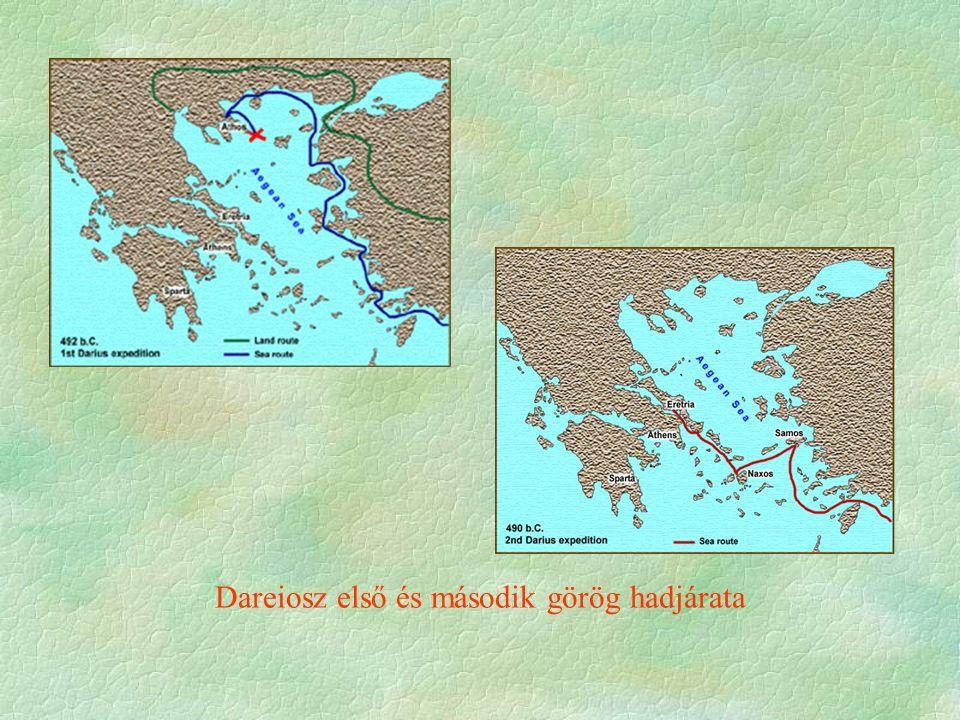 Dareiosz első és második görög hadjárata