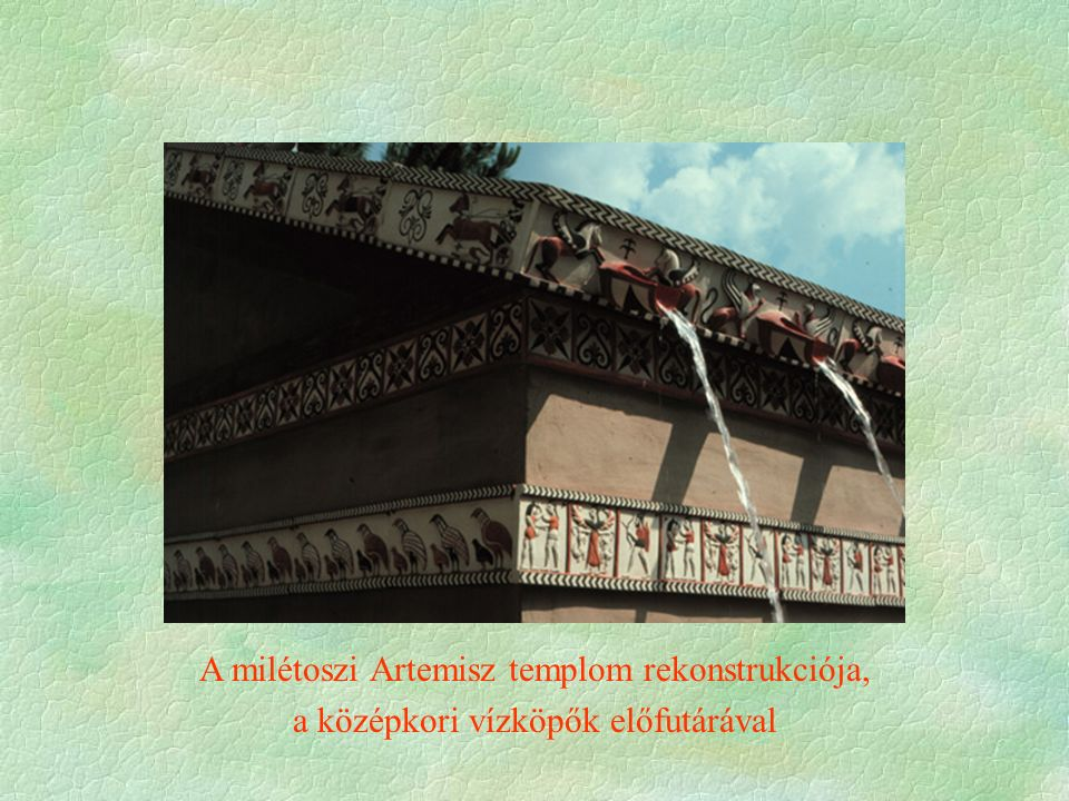 A milétoszi Artemisz templom rekonstrukciója,