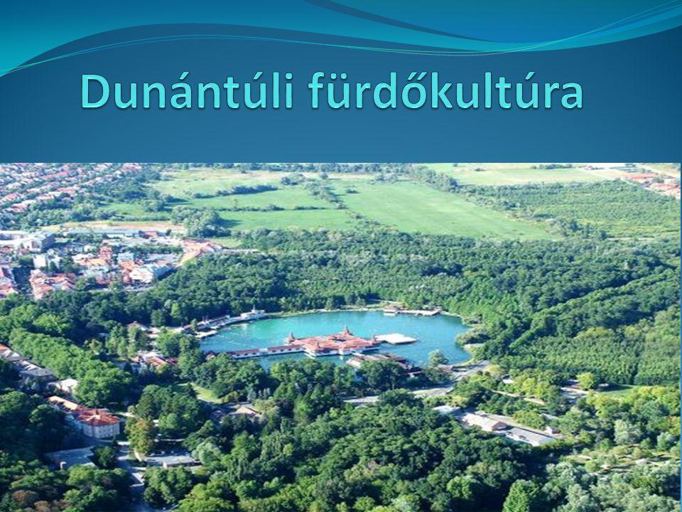 Dunántúli fürdőkultúra