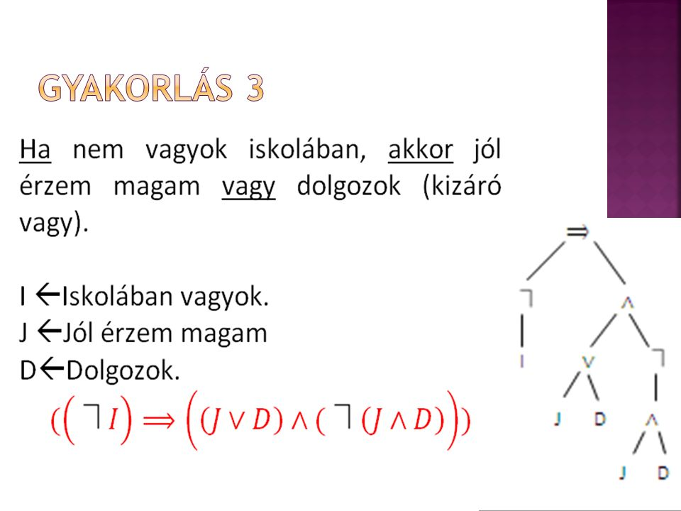 Gyakorlás 3