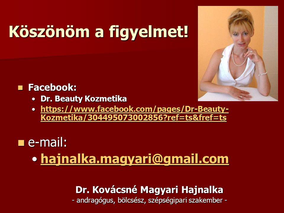 Dr. Kovácsné Magyari Hajnalka