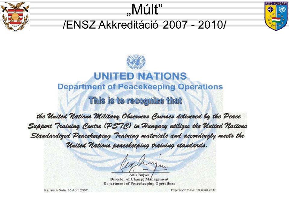 """""""Múlt ENSZ akkreditáció: /ENSZ Akkreditáció 2007 - 2010/"""