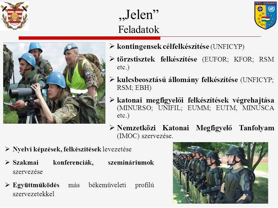 """""""Jelen Feladatok kontingensek célfelkészítése (UNFICYP)"""