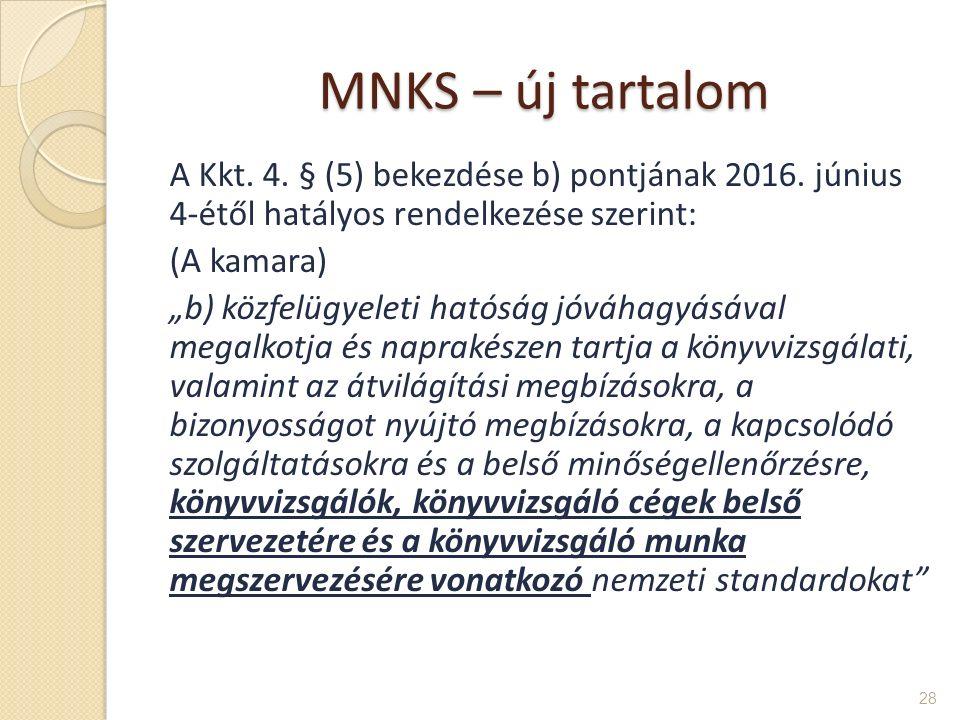 MNKS – új tartalom