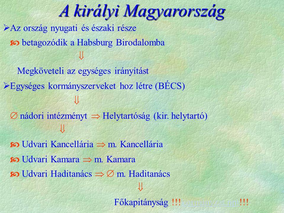 A királyi Magyarország