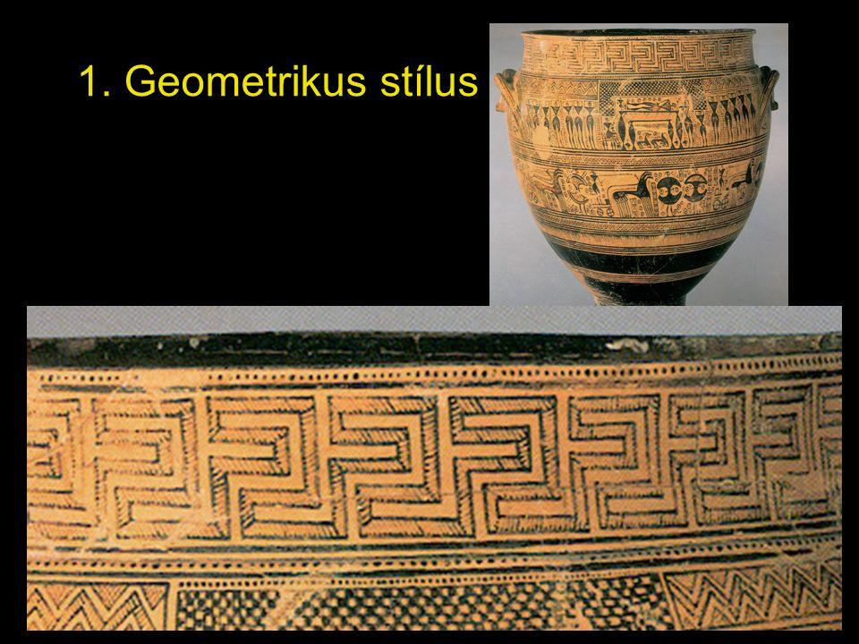 1. Geometrikus stílus