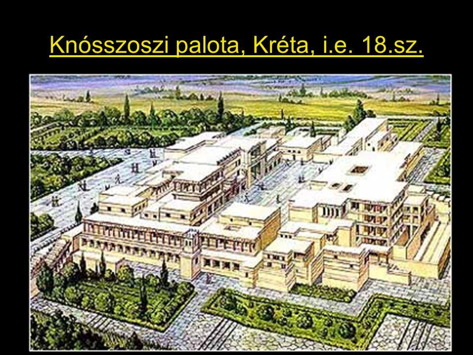 Knósszoszi palota, Kréta, i.e. 18.sz.